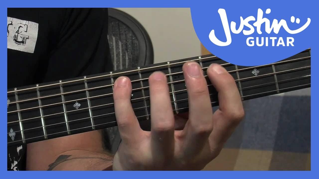 12 Bar Blues Bass Lines | JustinGuitar com