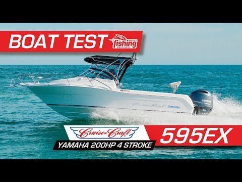 Tested | Cruise Craft 595EX with Yamaha 200HP 4 stroke