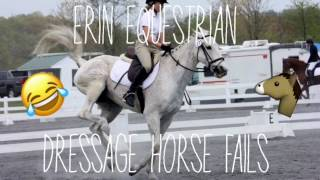 must watch horse failsfalls dressage edition compilation