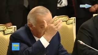 Путин Каримову это видимо наши коллеги ленивые люди не хотят с вами работать!