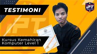 Kemahiran Komputer I Testimoni Pelajar IPTSkills – Muhammad Shafiq