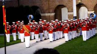 Marine Corp Band Stars and Stripes Forever.