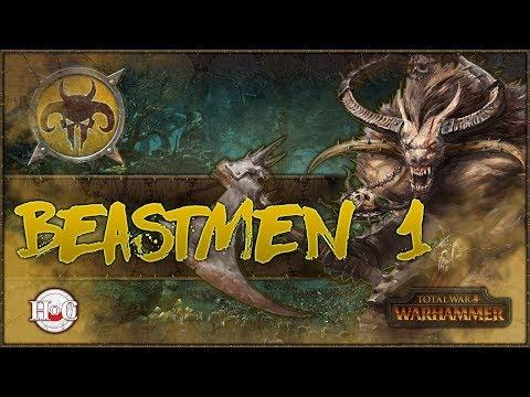 Total War Warhammer - Beastmen Campaign - 1