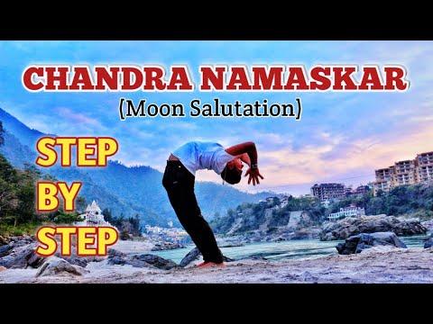 chandra namaskar  moon salutation  how to do chandra