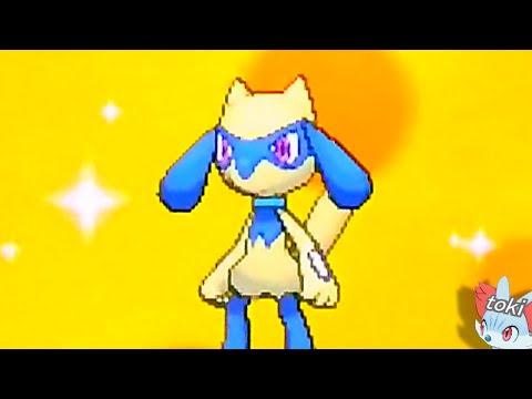 色違いリオル誕生 ∩╹∀╹∩❤ Pokémon Shiny Riolu via MM!!
