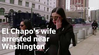 El Chapo's Wife Arrested Near Washington