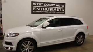Audi Q7 S 2014 Videos