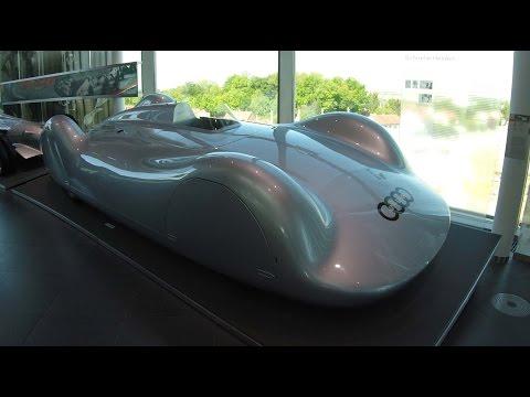 AUTO  UNION (AUDI) 16 CYLINDER STREAMLINER RACING CAR TYPE C 1937 ! WALKAROUND ! 400 KM/H CAR !