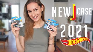 New Hot Wheels J Case Collection 2021