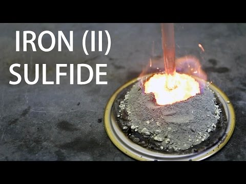 Synthesis of Iron (II) Sulfide (FeS)