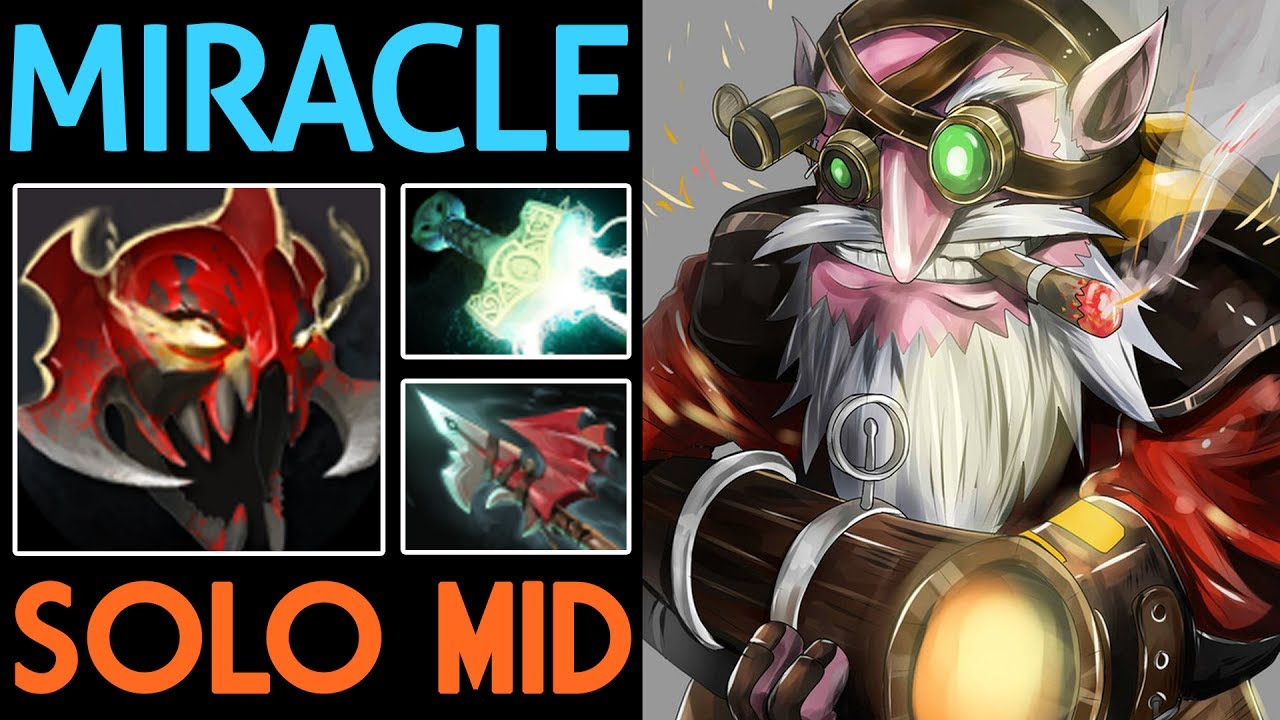 miracle dota 2 sniper m god is op solo mid youtube