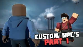 Custom NPC's Part 1 | Roblox Tutorial