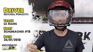 Driver Profile - Mitchell Ponzetti | Kingston Park Raceway Go Karting Brisbane Gold Coast