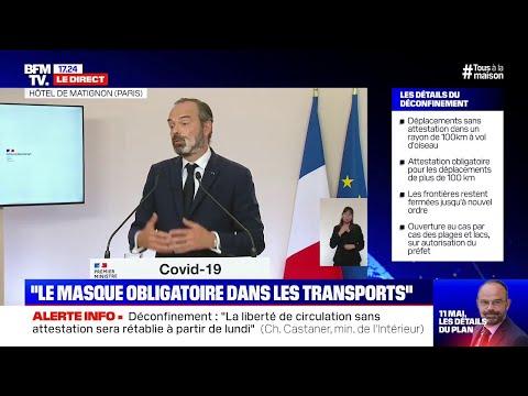 Plan de déconfinement: revoir la conférence de presse d'Édouard Philippe en intégralité