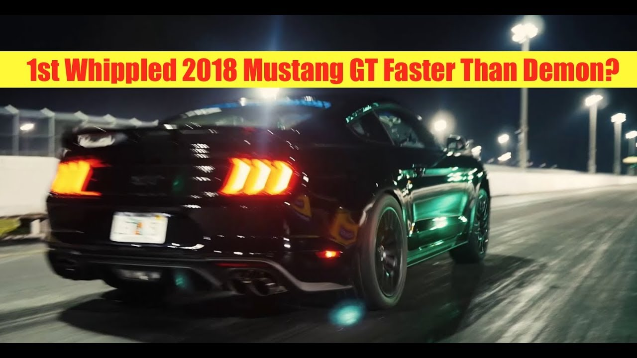 exclusive   mustang gt whipple crushes  mile youtube