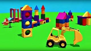 Ma Petite Ville Jouete: Une sphère. Dessin animé educatif pour les enfants en français