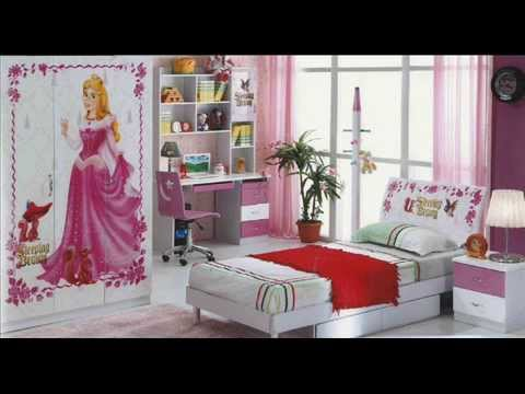 chambre a coucher fille youtube. Black Bedroom Furniture Sets. Home Design Ideas