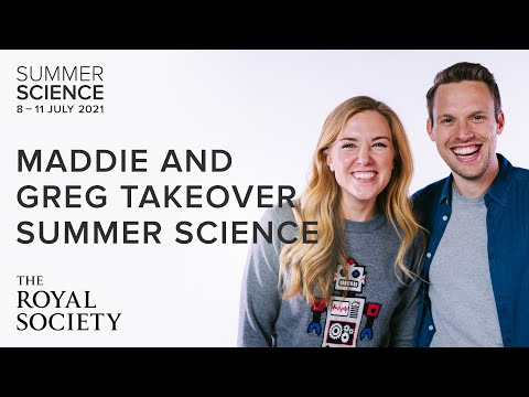 Maddie Moate and Greg Foot take over Summer Science | The Royal Society