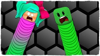 ¡SLITHER.IO EN ROBLOX! (Roblox Dragon Riders) - Manucraft