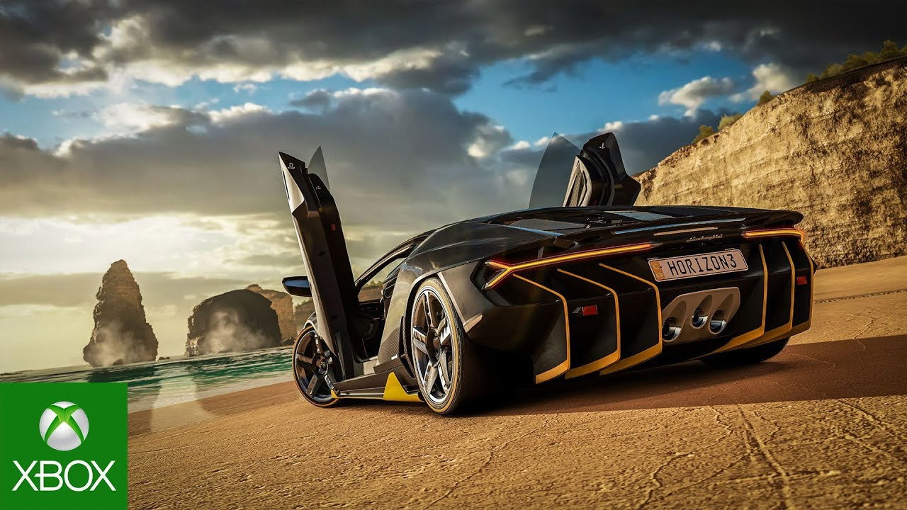forza horizon 3 xbox one x enhanced trailer youtube. Black Bedroom Furniture Sets. Home Design Ideas
