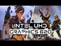 Intel UHD Graphics 620 Gaming Performance!