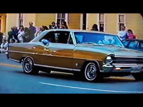 Vintage 1994 car cruise with 59 Bel Air & 69 Chevy truck