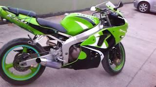 Kawasaki Zx6r efsane ses