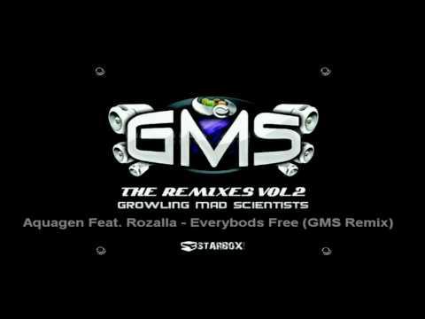 Aquagen Feat. Rozalla - Everybody's Free (GMS Remix)