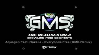 Aquagen Feat. Rozalla - Everybody's Free (GMS Remix)