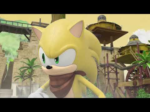 Sonic vs Shadow but every time they hit each other Sonic's color changes