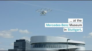 Volocopter flies for the first time in a European city