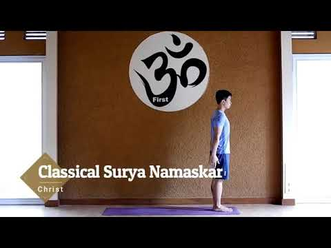 "yoga ""surya namaskar""  youtube"