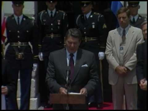President Reagan's Meetings with President Magana of El Salvador on June 17, 1983