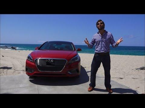 Hyundai Sonata Hybrid 2016 Prueba A Bordo Full