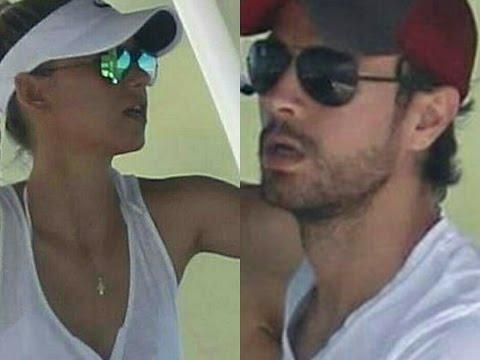 Anna Kournikova & Enrique Iglesias out in Miami (September, 2016)