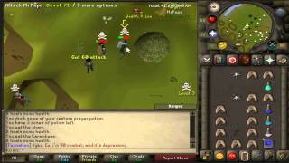 Runescape 2007 | KO Inc Pk Video #9 | 1 Defence Pure Pking.
