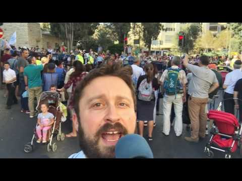 Why Jews should throw candy at the Christian marchers in Jerusalem