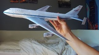 Nasa Boeing 747 in full papercraft!