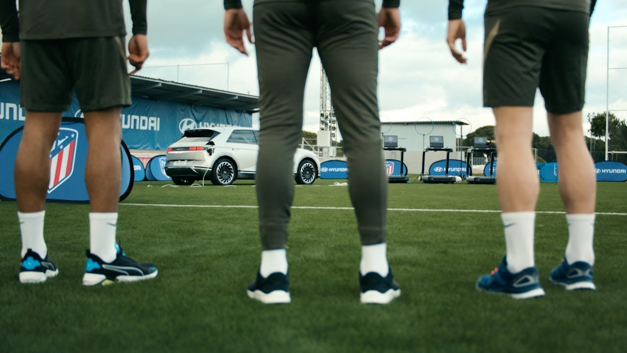 Electric Football Training powered by IONIQ 5
