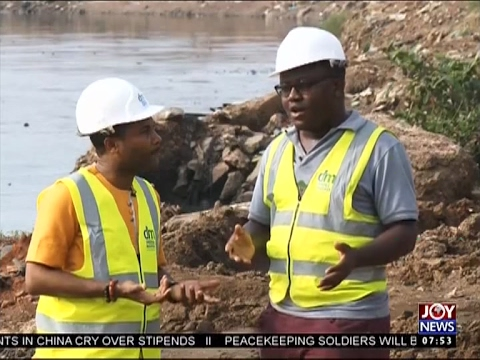 Dredging of Odaw Drains - AM Show on Joy News (20-2-17)