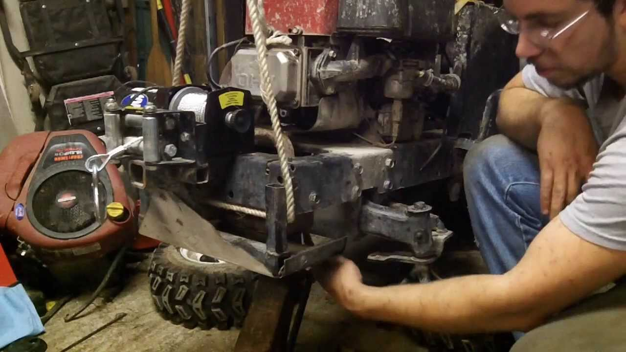 front axle swap upgrade craftsman 90 39 s and newer youtube. Black Bedroom Furniture Sets. Home Design Ideas