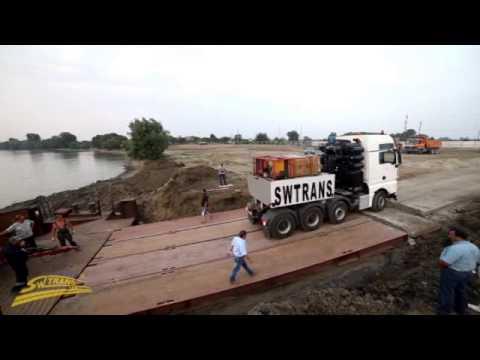 видео: swtrans - Перевозка негабаритных грузов