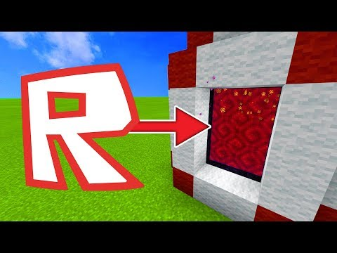 How To Make a Portal to the Roblox Dimension in Minecraft!
