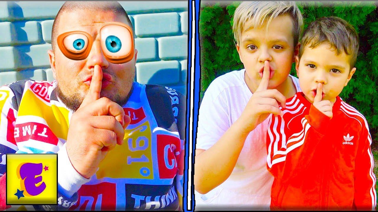 Егорка и Ярик Играют ПРЯТКИ с Папой...!!!