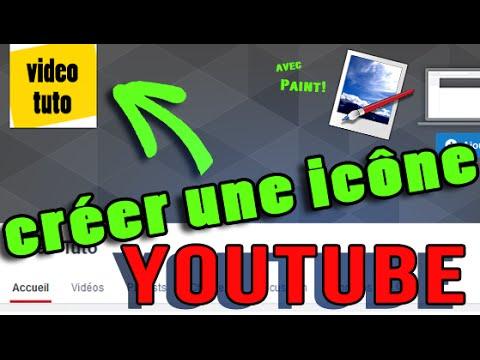 Tuto Creer Une Icone De Chaine Youtube Avec Paint 2015 Youtube