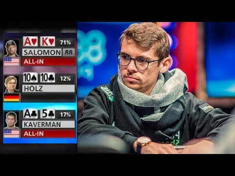 Can Justin Bonomo DEFEAT Fedor Holz For $10,000,000? || WSOP One Drop Poker