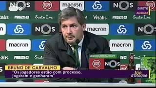 (Vídeo completo) Bruno de Carvalho: