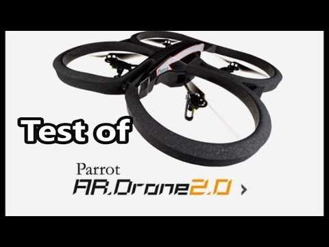 Parrot AR.Drone 2.0 test, a remote controlled flying quadcopter helicopter elite edition
