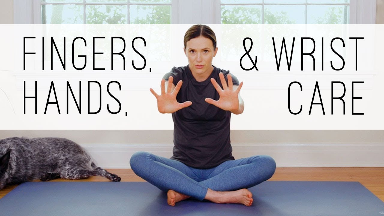 11 Minute Yoga Quickie Hands Fingers Wrists Yoga With Adriene