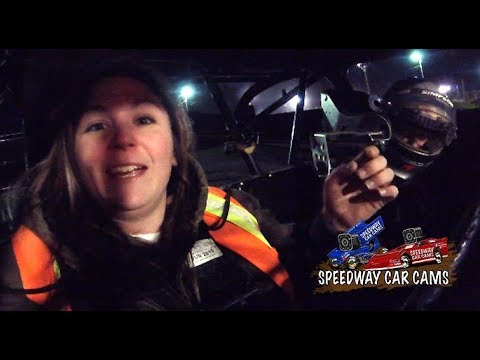 Ronnie Johnson 2 seater ride with Allyssa at Boyds Speedway on 10-29-17 - In Car Camera